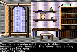 In game image of Learn to Add on the Apple II.