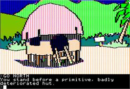 In game image of Mindshadow on the Apple II.