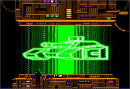 In game image of Omega on the Apple II.