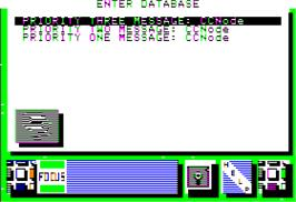 In game image of Portal on the Apple II.