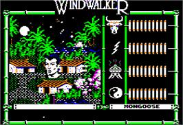 In game image of Windwalker on the Apple II.