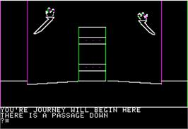 In game image of Wizard of Oz on the Apple II.
