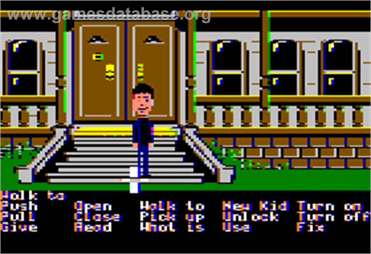 Maniac Mansion - Apple II - Artwork - In Game