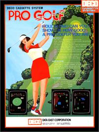 Advert for 18 Holes Pro Golf on the Arcade.
