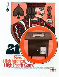 Advert for 21 on the Arcade.