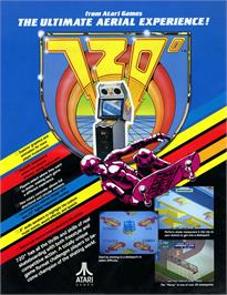 Advert for 720 Degrees on the Arcade.