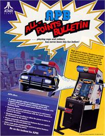 Advert for APB - All Points Bulletin on the Arcade.