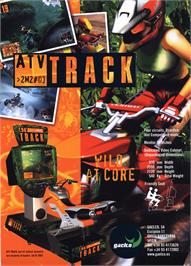 Advert for ATV Track on the Arcade.