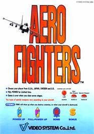 Advert for Aero Fighters on the Arcade.