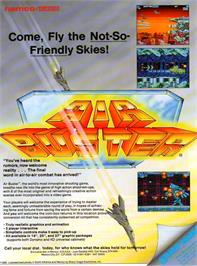 Advert for Air Buster: Trouble Specialty Raid Unit on the Arcade.