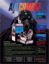 Advert for Air Combat on the Sony Playstation.