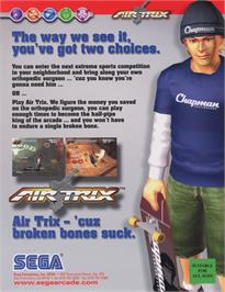 Advert for Air Trix on the Arcade.