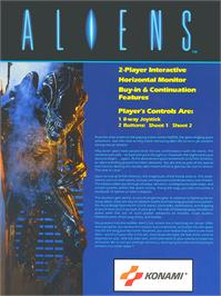 Advert for Aliens on the Amstrad CPC.