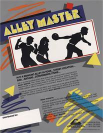 Advert for Alley Master on the Arcade.