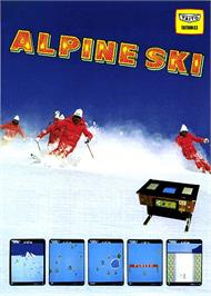 Advert for Alpine Ski on the Arcade.