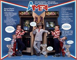 Advert for AmeriDarts on the Arcade.