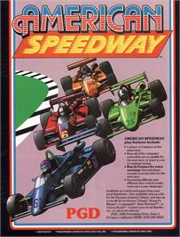Advert for American Speedway on the Arcade.