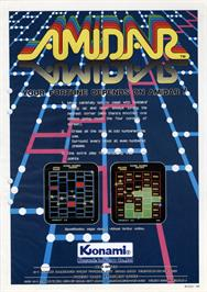 Advert for Amidar on the Arcade.