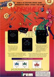 Advert for Andromeda on the Arcade.