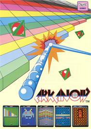 Advert for Arkanoid on the Arcade.