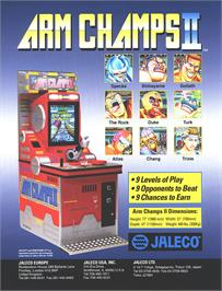 Advert for Arm Champs II v1.7 on the Arcade.