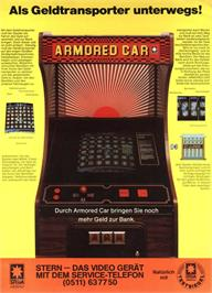 Advert for Armored Car on the Arcade.
