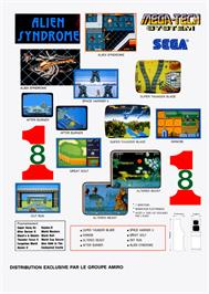 Advert for Arrow Flash on the Sega Nomad.