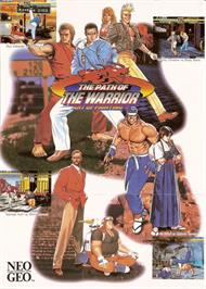 Advert for Art of Fighting 3 - The Path of the Warrior on the Arcade.