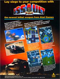 Advert for Assault on the Atari 2600.