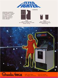 Advert for Astro Battle on the Bally Astrocade.