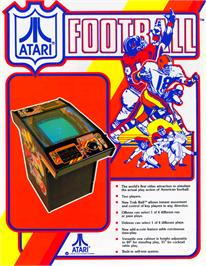 Advert for Atari Football on the Arcade.