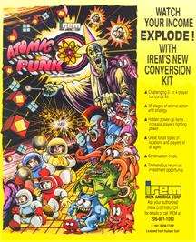 Advert for Atomic Punk on the Arcade.