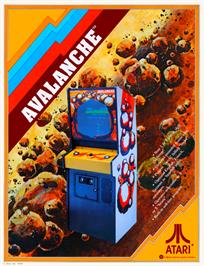 Advert for Avalanche on the Arcade.