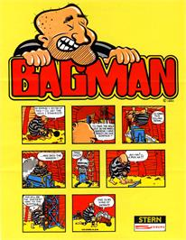 Advert for Bagman on the Arcade.