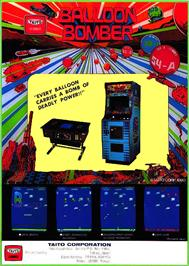 Advert for Balloon Bomber on the Arcade.