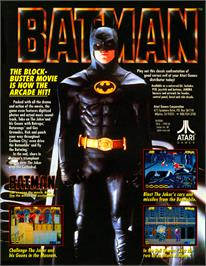 Advert for Batman on the Arcade.