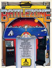 Advert for Battle Zone on the Apple II.