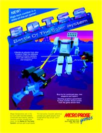 Advert for Battle of the Solar System on the Arcade.