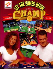Advert for Beat the Champ on the Arcade.