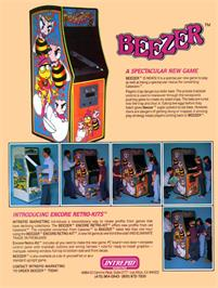 Advert for Beezer on the Arcade.