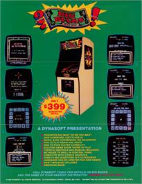 Advert for Big Bucks on the Arcade.