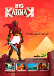 Advert for Big Karnak on the Arcade.