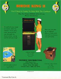 Advert for Birdie King 2 on the Arcade.