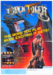 Advert for Black Tiger on the Arcade.