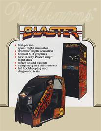 Advert for Blaster on the Arcade.
