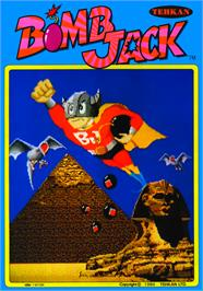 Advert for Bomb Jack on the Arcade.