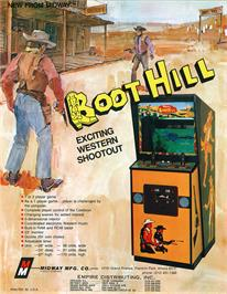 Advert for Boot Hill on the Arcade.