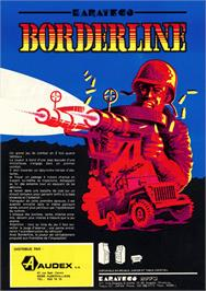 Advert for Borderline on the Arcade.