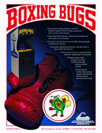 Advert for Boxing Bugs on the Arcade.