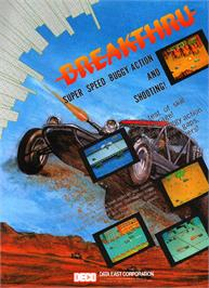 Advert for Break Thru on the Arcade.